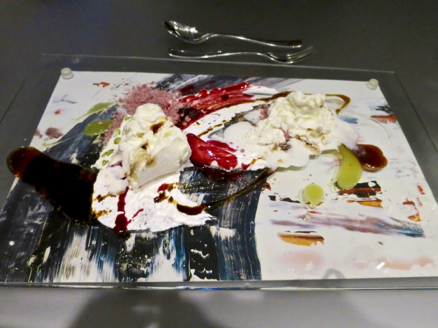 #11 - Paint - cherry, white chocolate, orange, bourbon, coffee, pistachio