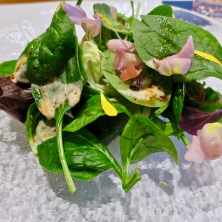Hiroshi Los Altos - salad
