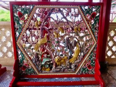 Intricate Hand Carvings - Bang Pa-in Royal Palace