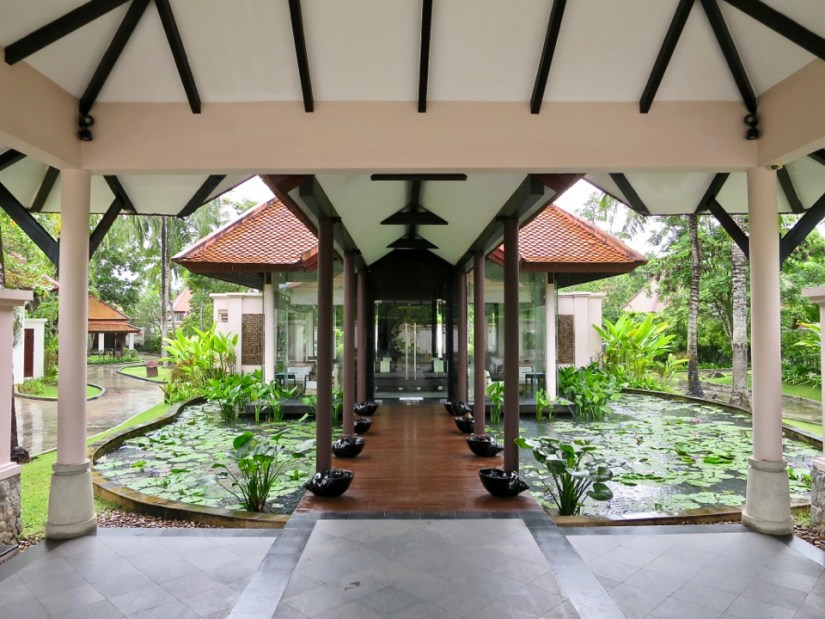 Banyan Tree Phuket - Tea house in Banyan Tree Phuket spa sanctuary area