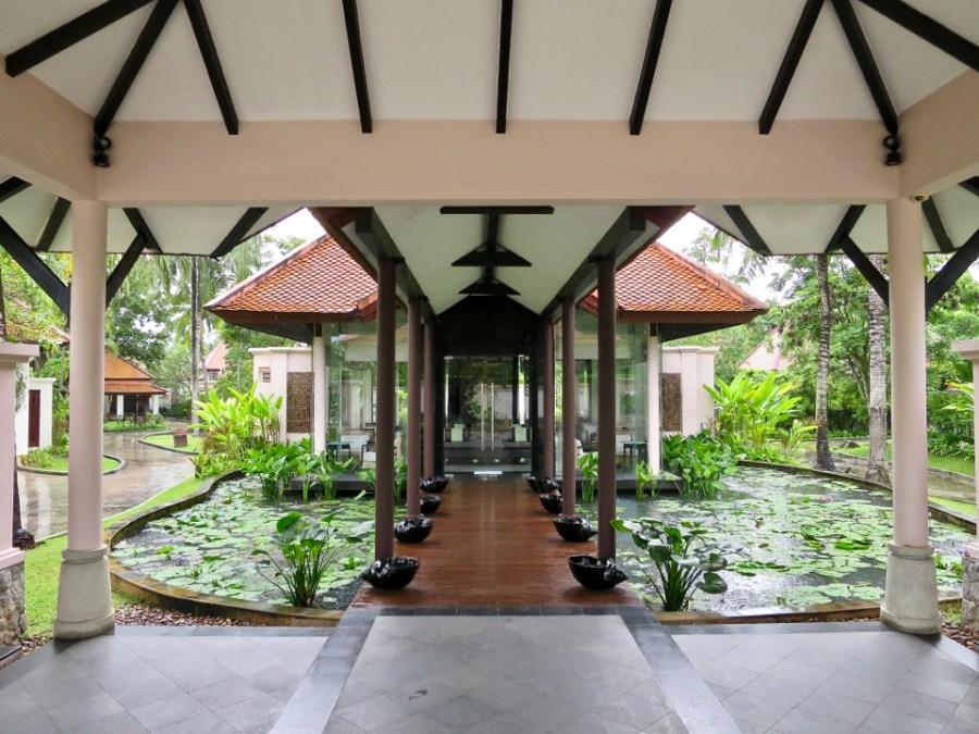 Banyan Tree Phuket - Tea house in Banyan Tree Phuket spa sanctuary area