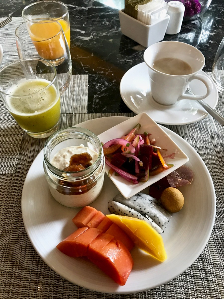 Banyan Tree Phuket - My brunch buffet selections