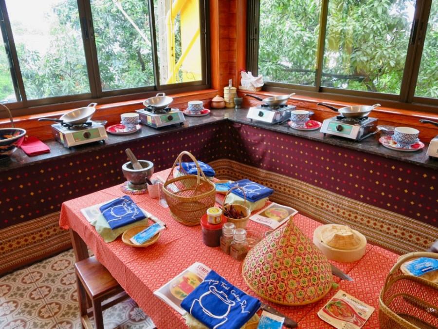 Sompong Thai Cooking School - classroom