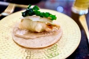 Pineapple & Pearls - Squash Blossom Taco