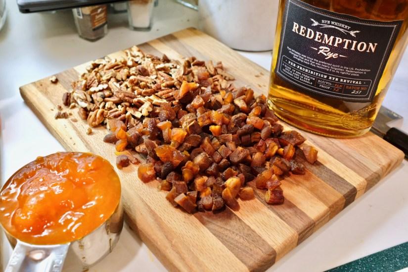 Persimmon bread ingredients