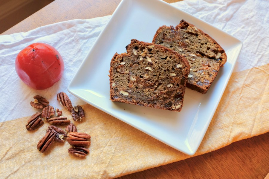 Delicious Persimmon Bread