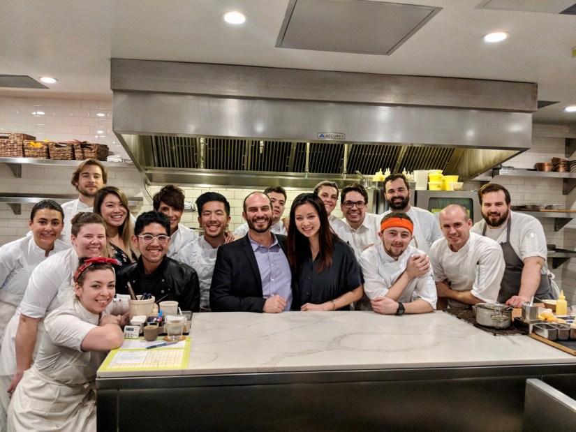 Atelier Crenn - kitchen staff