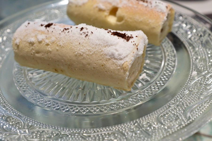 Disfrutar - Coffee swiss roll