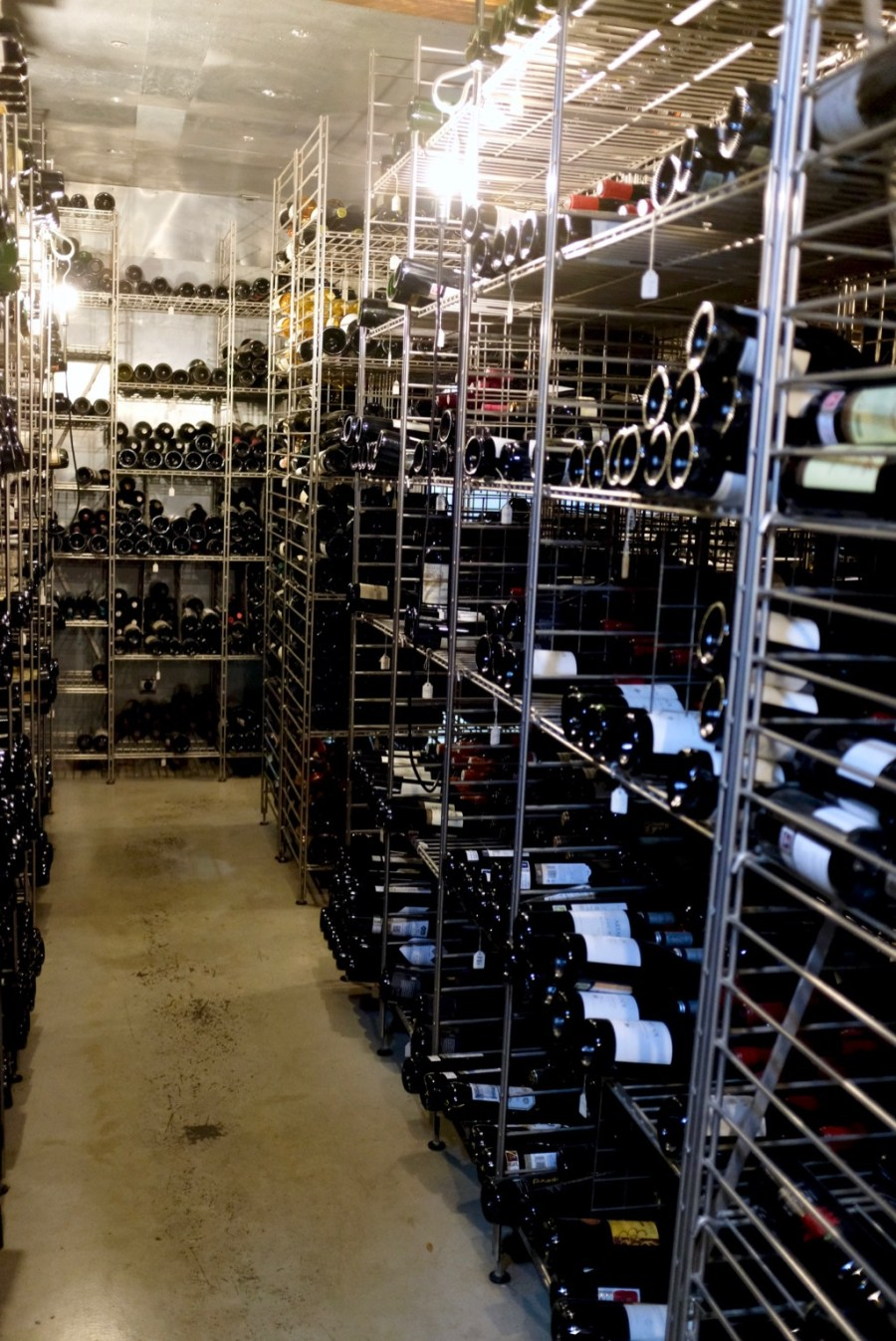 Arzak - Wine cellar with reportedly 100,000 bottles