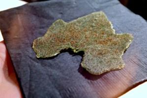 Maum - Zucchini Squash Leaf, dried and fried, korean soybean powder