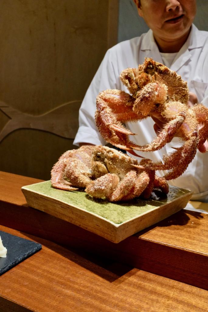 Kame Omakase - Hokkaido Hairy crab