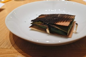 Gaggan at Eight Tables - Cutlass Fish Paturi