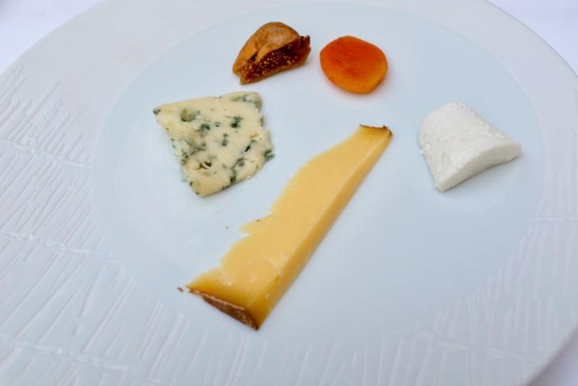 Epicure - Cheese course selections - roquefort, comté, goat