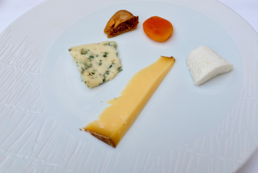 Epicure - Cheese course selections - roquefort, comté, goat