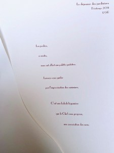 Arpege - The Gardener's Lunch Tasting Menu 175€ (~$200)