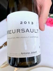 Arpege - Francois et Antoine Jobard, Meursault, 2013, Burgandy, France