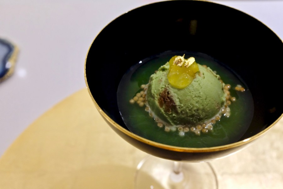 The Shota - Matcha - matcha ice cream, cara cara navel, matcha tea