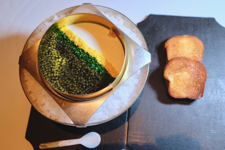 Quince SF - Golden Osetra Caviar Panna Cotta Supplement