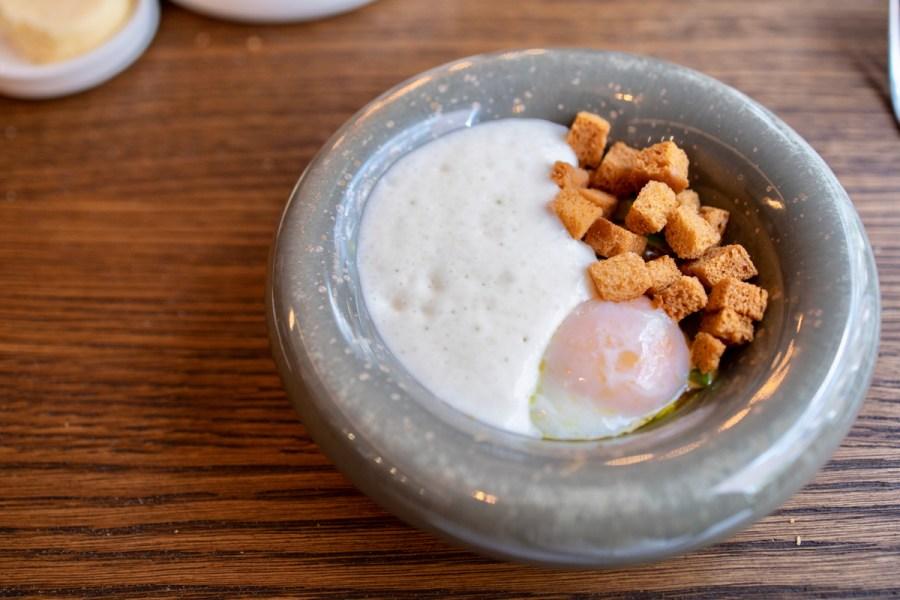 Daalder - Egg, green aspargus, morel, parmesan