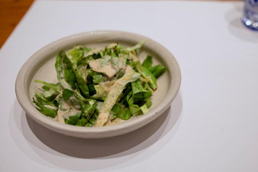 Hiroshi - Mixed Greeen Salad with Chef's Goma Vinaigrette