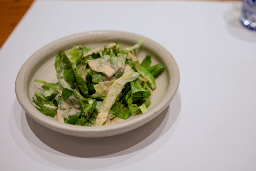 Hiroshi - Mixed Greeen Salad with Chef's Goma Vinaigrette