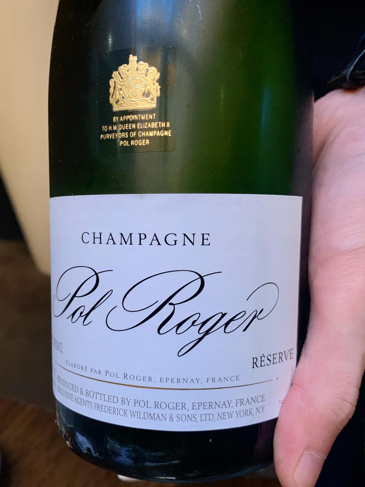 Benu - Pol Roger, Reserve Brut Champagne