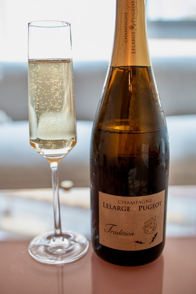 Atelier Crenn Takeout - Lelarge Pugeot Extra Brut Champagne