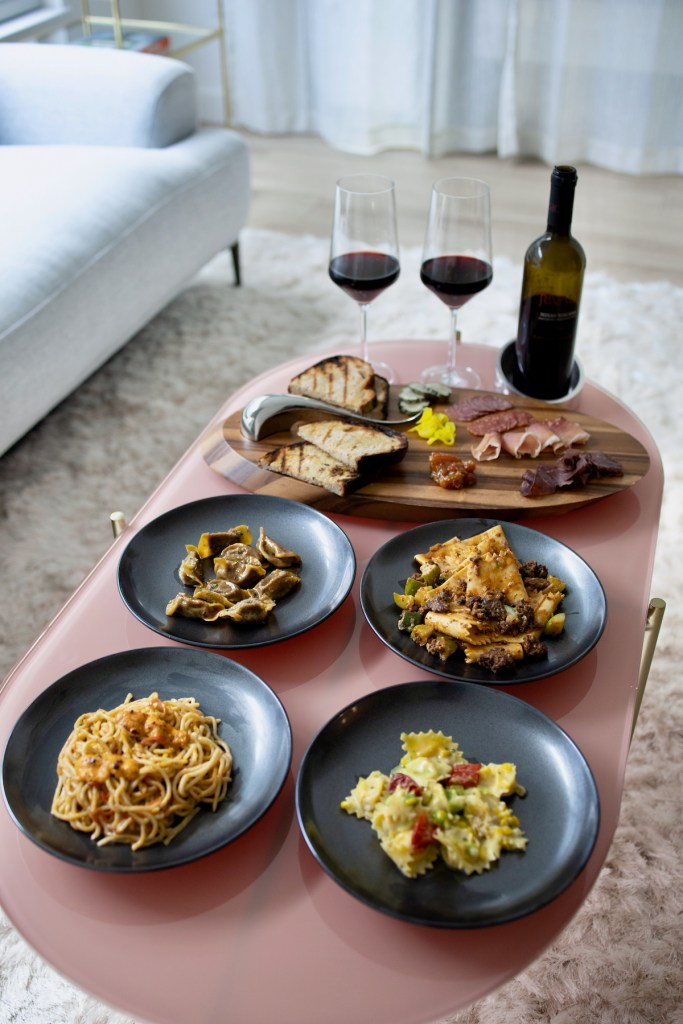 Trattoria Bruno SF Pop Up - Four pastas, charcuterie, and 2009 Rosso Toscana