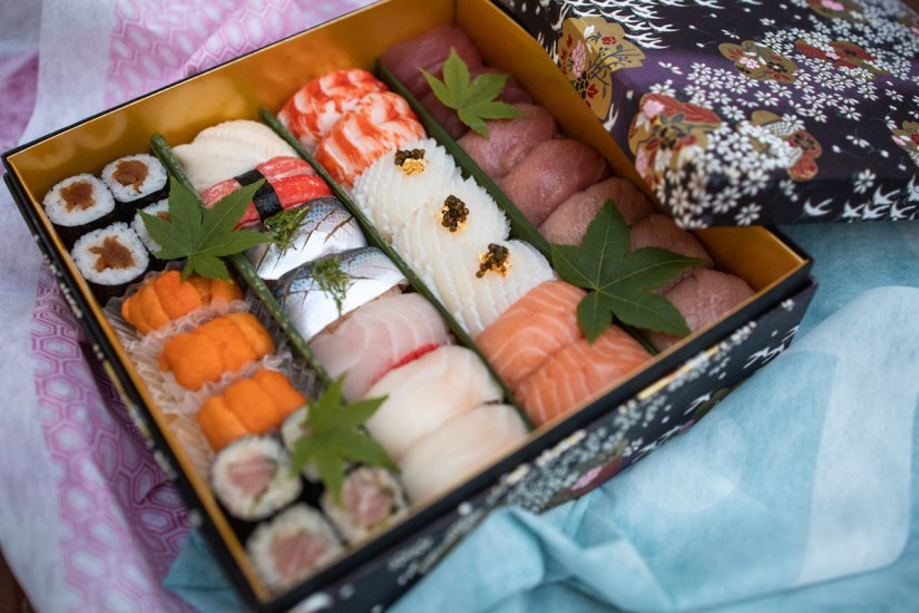 Hiroshi Takeout - Deluxe Sushi Nigiri Bento