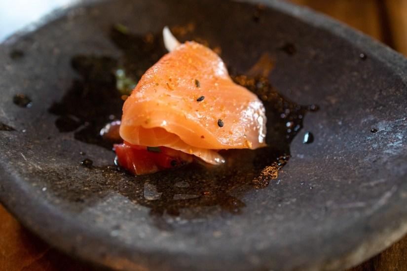 Kibatsu SF - Salmon ceviche
