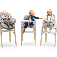 Stokke High Chair Shower Chairs Steps Styling Bouncer Highchair Combo A Visual On How The Concept Works