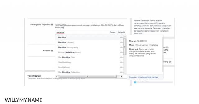 masih menyalahkan algoritma facebook ads - peminatan facebook ads berdasarkan kata kunci copy