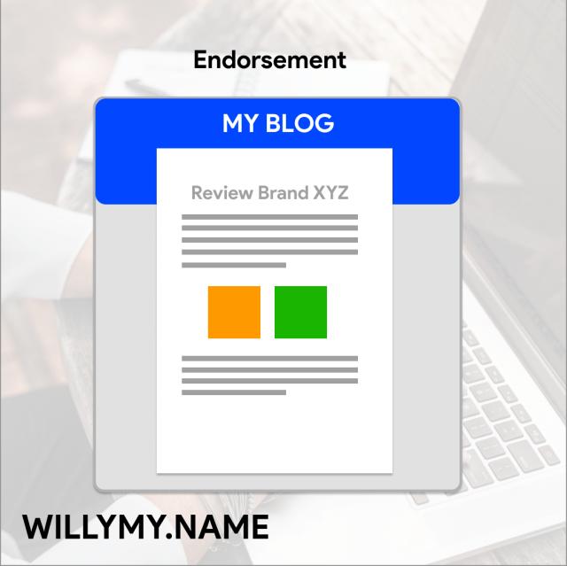 Mendapatkan endorsment dari menulis blog - 8 Cara Elegan dan halal mendapatkan uang dari internet