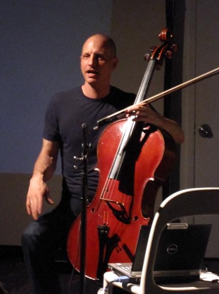 Erik Friedlander at The Stone in New York City on June 14, 2009
