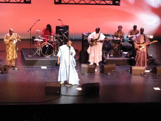 Youssou and band