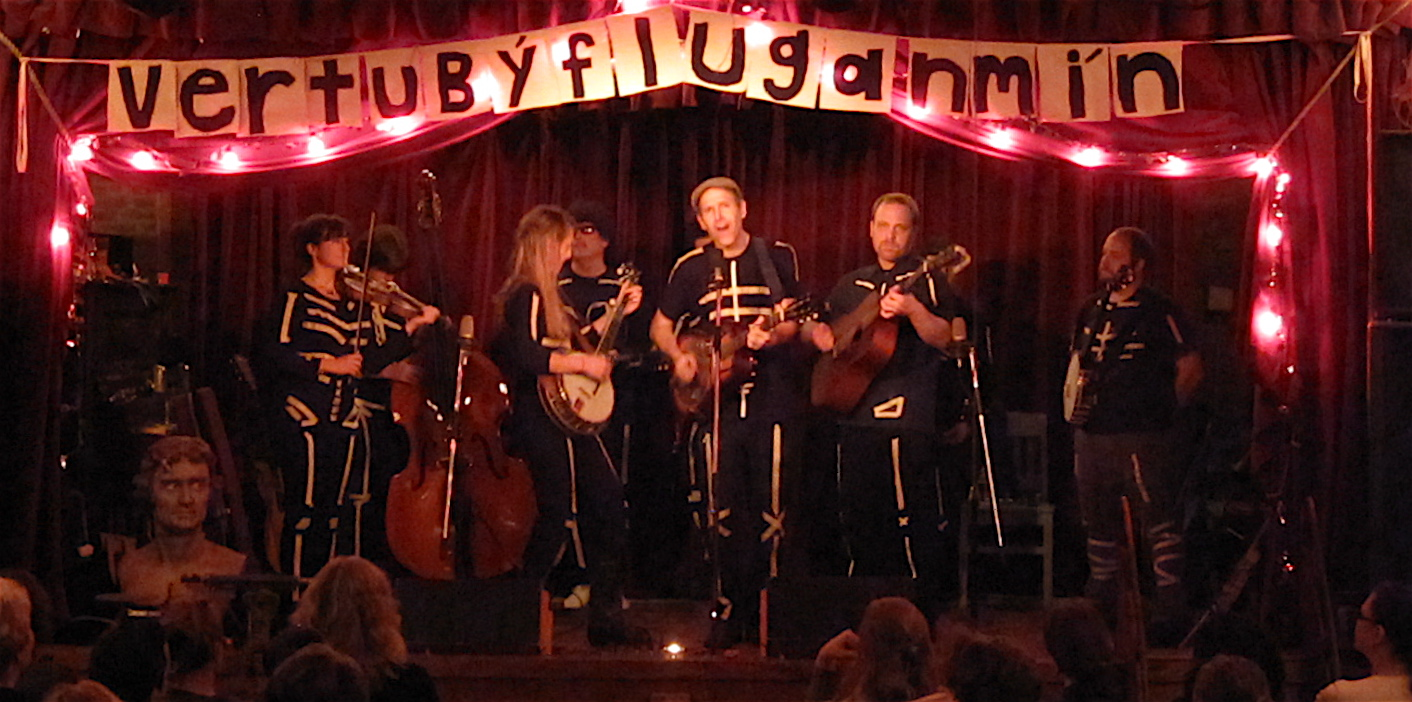 M Shanghai String Band at the Jalopy Theater in Red Hook, Brooklyn, on Oct. 30, 2009