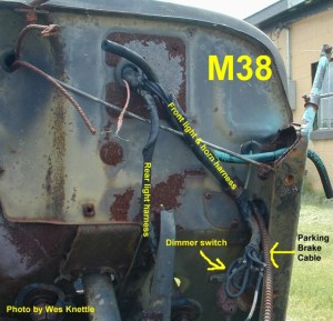 Willys M Jeeps ForumsviewtopicEarly wiring harness