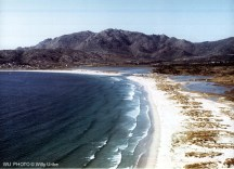 Praia de carnota. Monte Pindo. Galicia. WU PHOTO © Willy Uribe Archivo fotográfico Reportajes