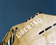 Buque Libertad. Astillero La Naval. Sestao. Basque Country. WU PHOTO © Willy Uribe Archivo Fotográfico Reportajes