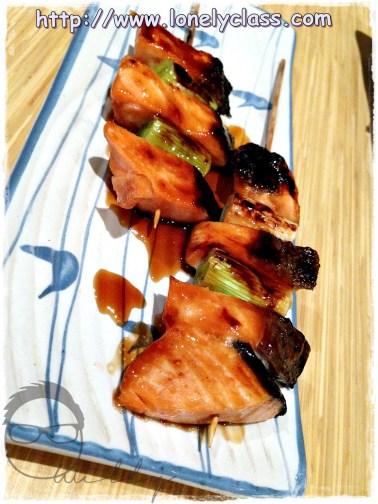 Salmon Negima RM16