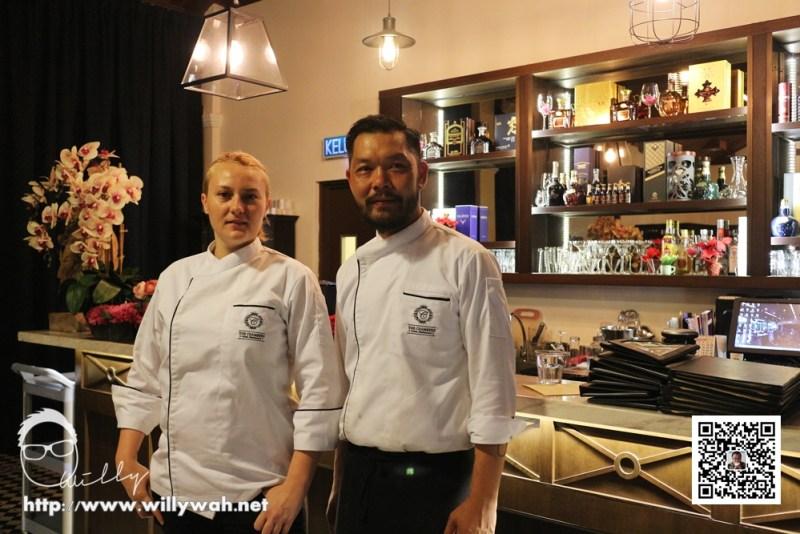 Chef Joseph 和 Chef Annastasia