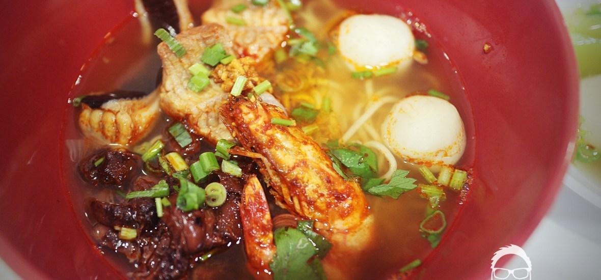 大山脚美食:古楼海鲜粉