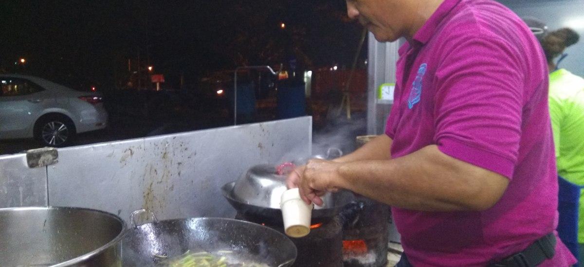 槟城美食:白毛福建炒