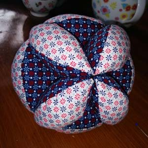 Originele Amish Puzzle Ball  Wilma Karels