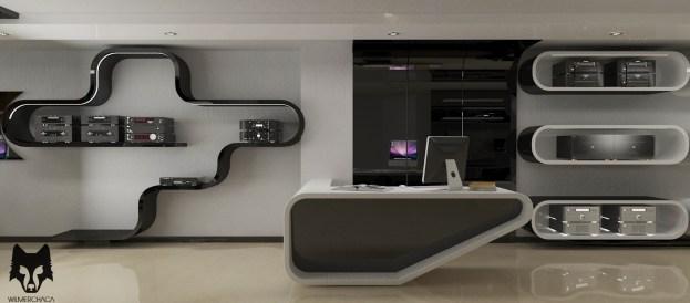 Interior Design: Onkyo Designer: Wilmer Chaca © All rights reserved
