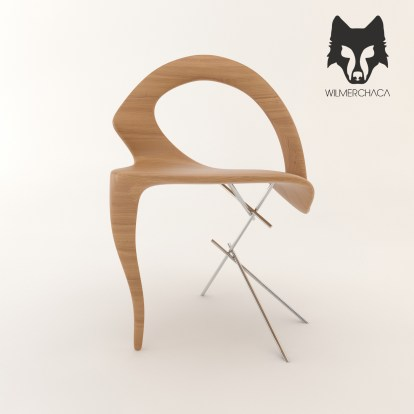 Chair: Dalí Designer: Wilmer Chaca © All rights reserved
