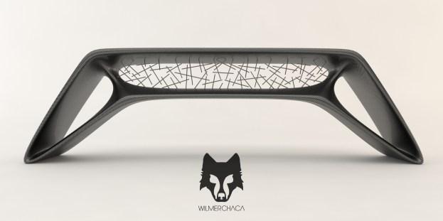 Desk: Cygnus Black Designer: Wilmer Chaca © All rights reserved.
