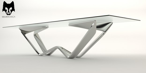 Dining Table: Exó Designer: Wilmer Chaca © All rights reserved