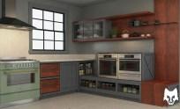 Kitchen: Marylebone Designer: Wilmer Chaca © All rights reserved