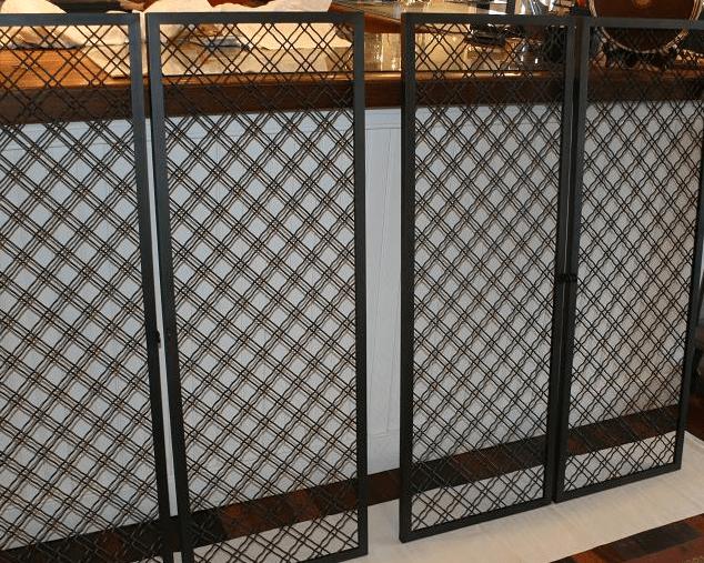 kitchen cabinet shelf inserts lights hanging home « wilmette custom - bespoke metal ...
